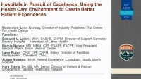 Hospitals in Pursuit of Excellence Features Case Studies to Highlight HCAHPS, Patient Experience, and the Built Environment