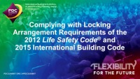 Complying with Locking Arrangement Requirements of the 2012 Life Safety Code® and 2015 International Building Code